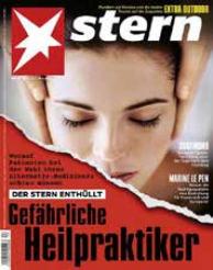 Titelcover Gefährliche Heilpraktiker, © Stern.de