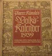 Volkskalender 1939, Quelle: Murgtalapotheke.wordpress.com